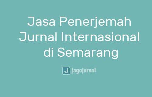 Jasa Penerjemah Translate Jurnal Internasional Semarang Terpercaya