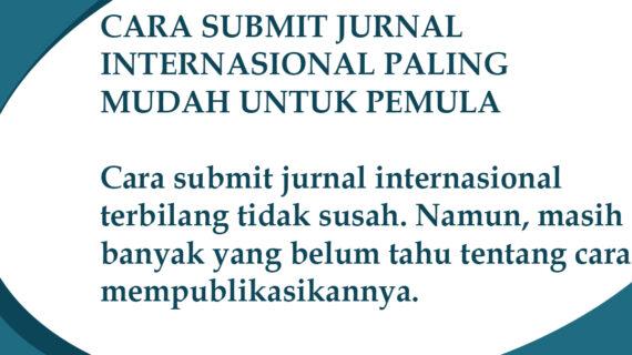 cara submit jurnal internasional